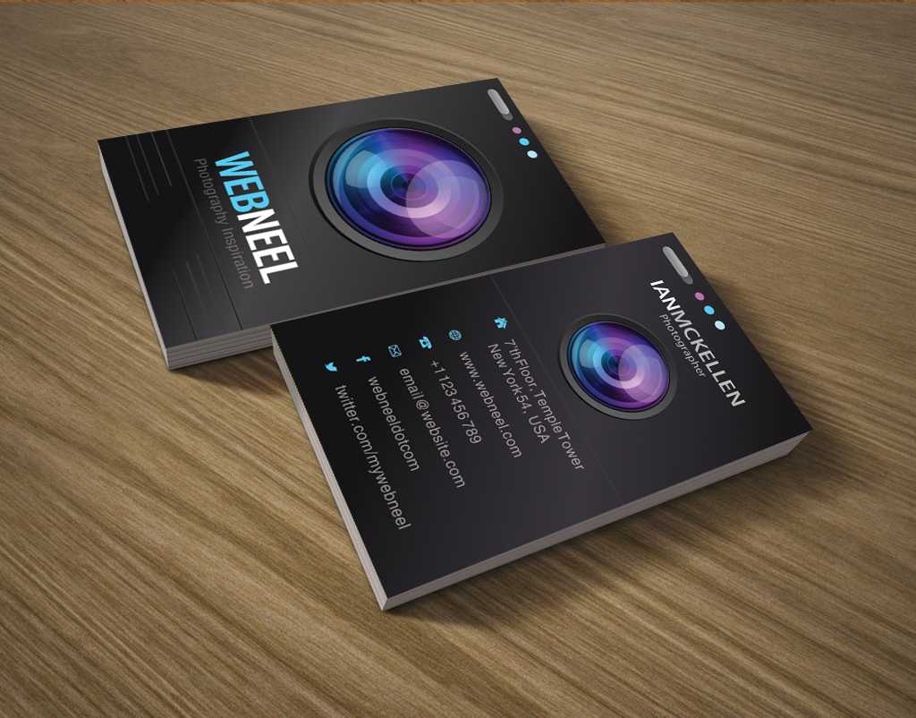 Photography Business Card Design Template 35 - Freedownload For Photography Business Card Templates Free Download