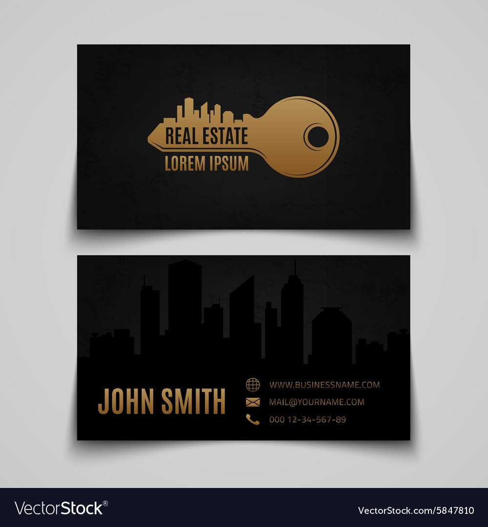 Real Estate Business Card Template Throughout Real Estate Business Cards Templates Free