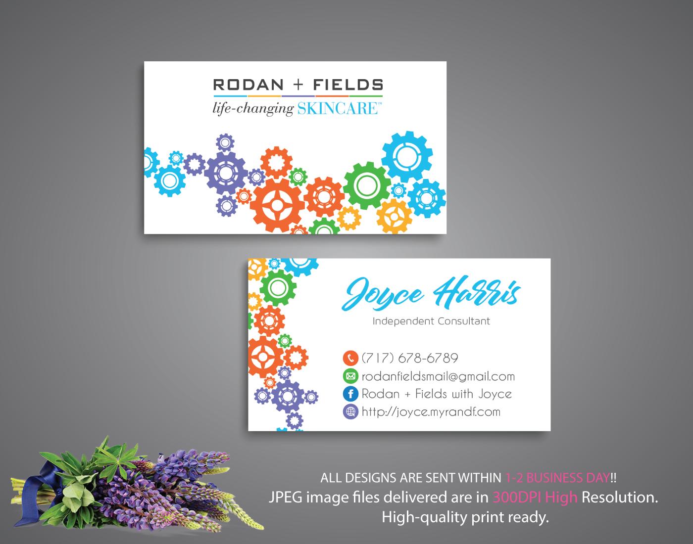 Rodan And Fields Business Cards, Rodan And Fields Digital Files, Rodan +  Fields Printable Card, R And F Marketing Cards, Rf07 Soldelisazone Pertaining To Rodan And Fields Business Card Template