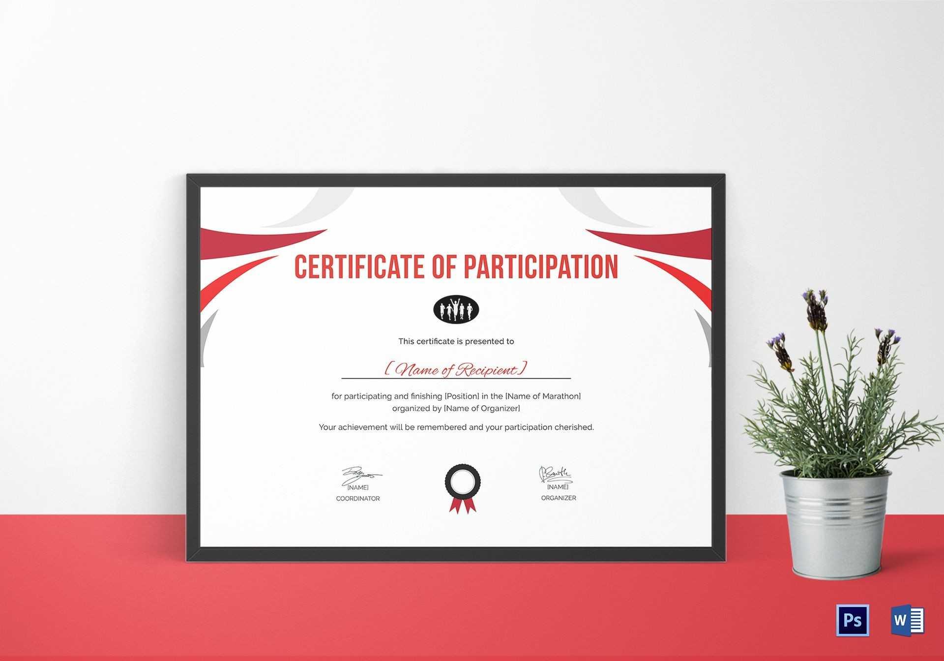 Running Certificate Template - Carlynstudio Inside Running Certificates Templates Free