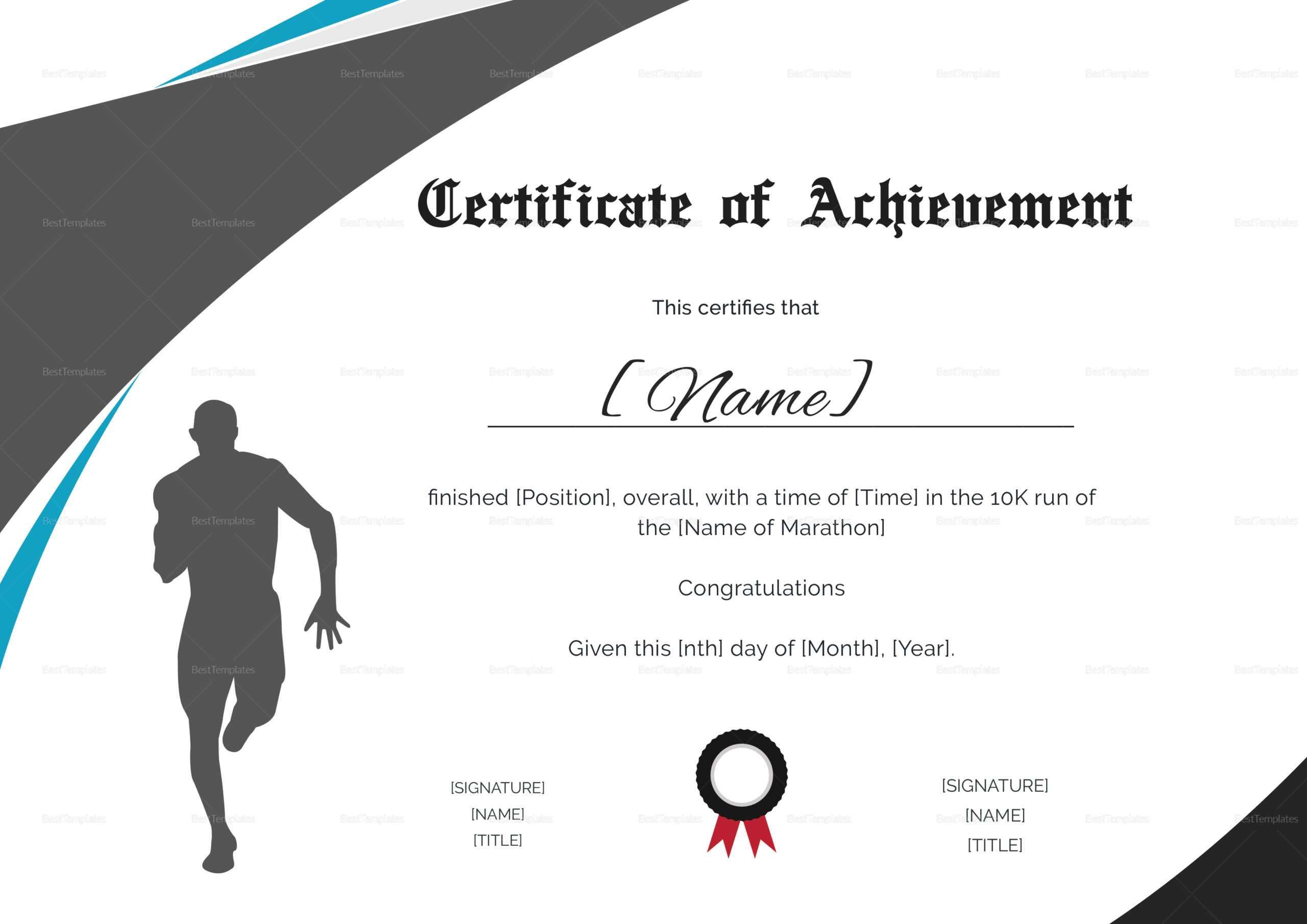 Running Certificate Templates - Falep.midnightpig.co Inside Running Certificates Templates Free
