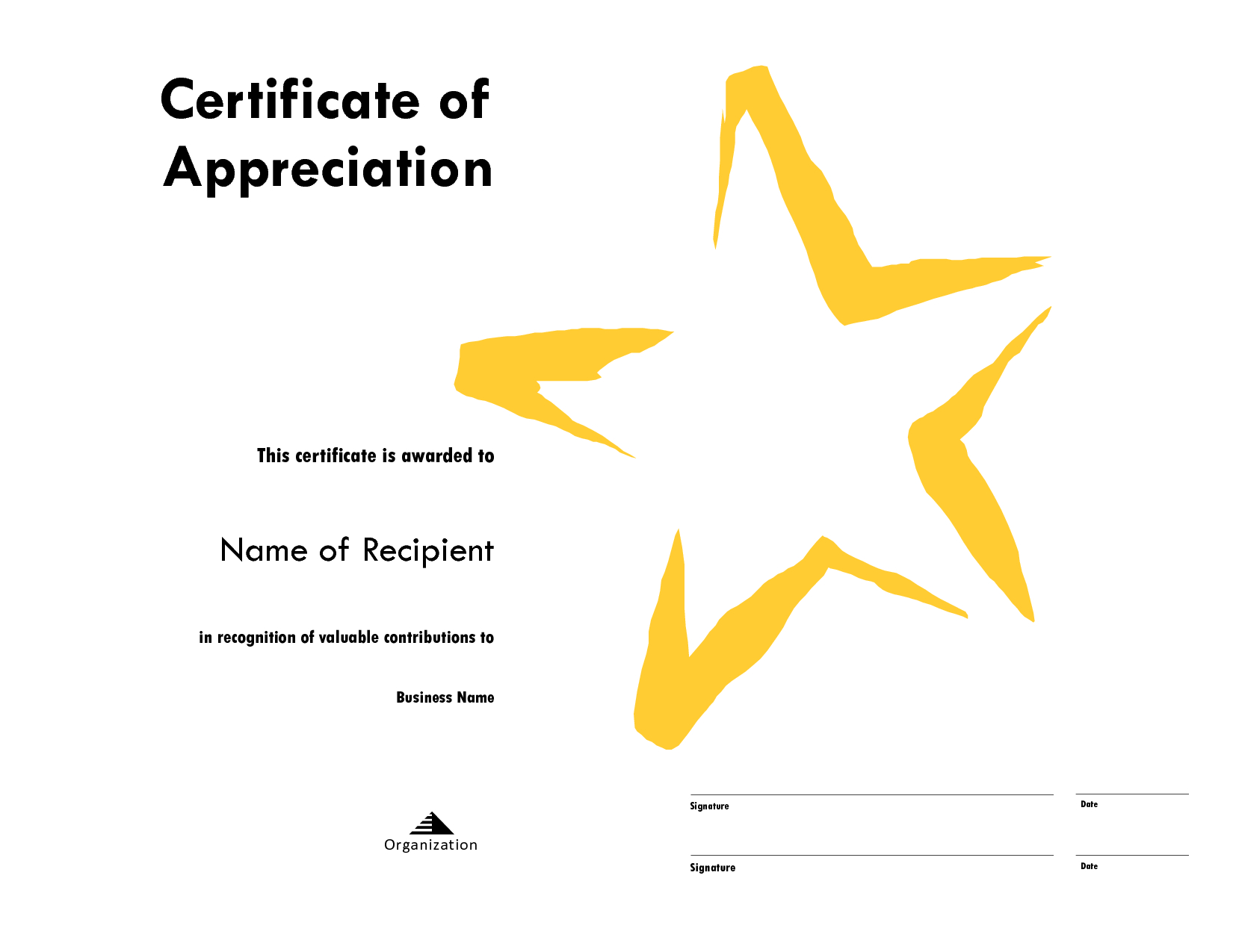 Star Certificate Templates – Calep.midnightpig.co Intended For Star Naming Certificate Template