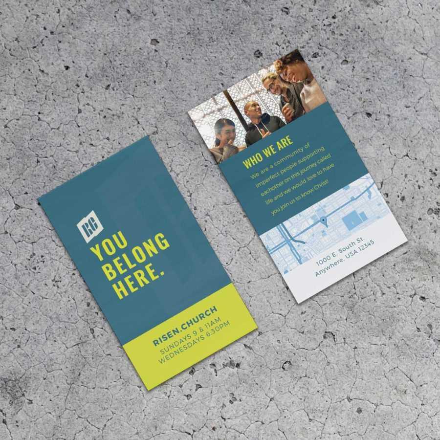 Surge City Invite Cards - Church Creative Works - Church Throughout Church Invite Cards Template