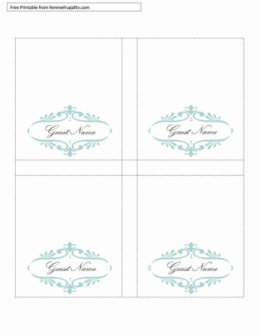 Table Tent Signs Template - Calep.midnightpig.co For Imprintable Place Cards Template