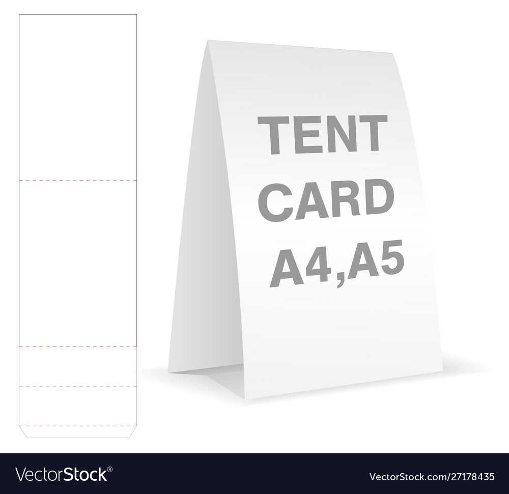 Tent Card Die Cut Mock Up Template Regarding Free Tent Card Template Downloads