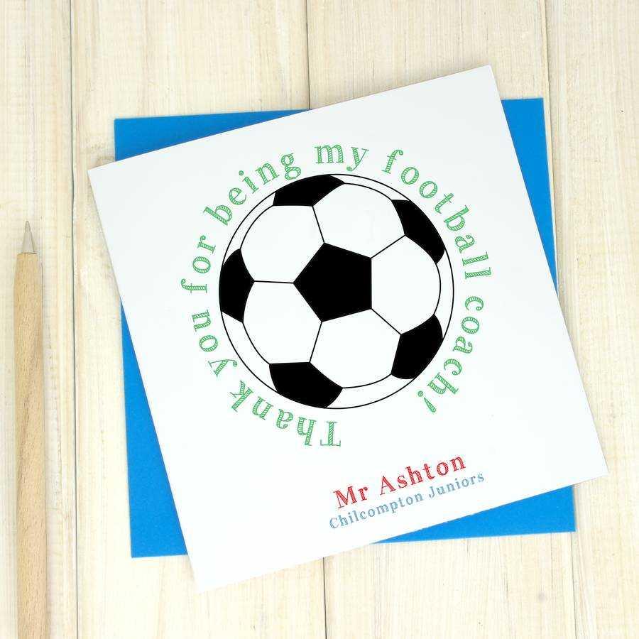 Thank You Football – Dalep.midnightpig.co Regarding Soccer Thank You Card Template