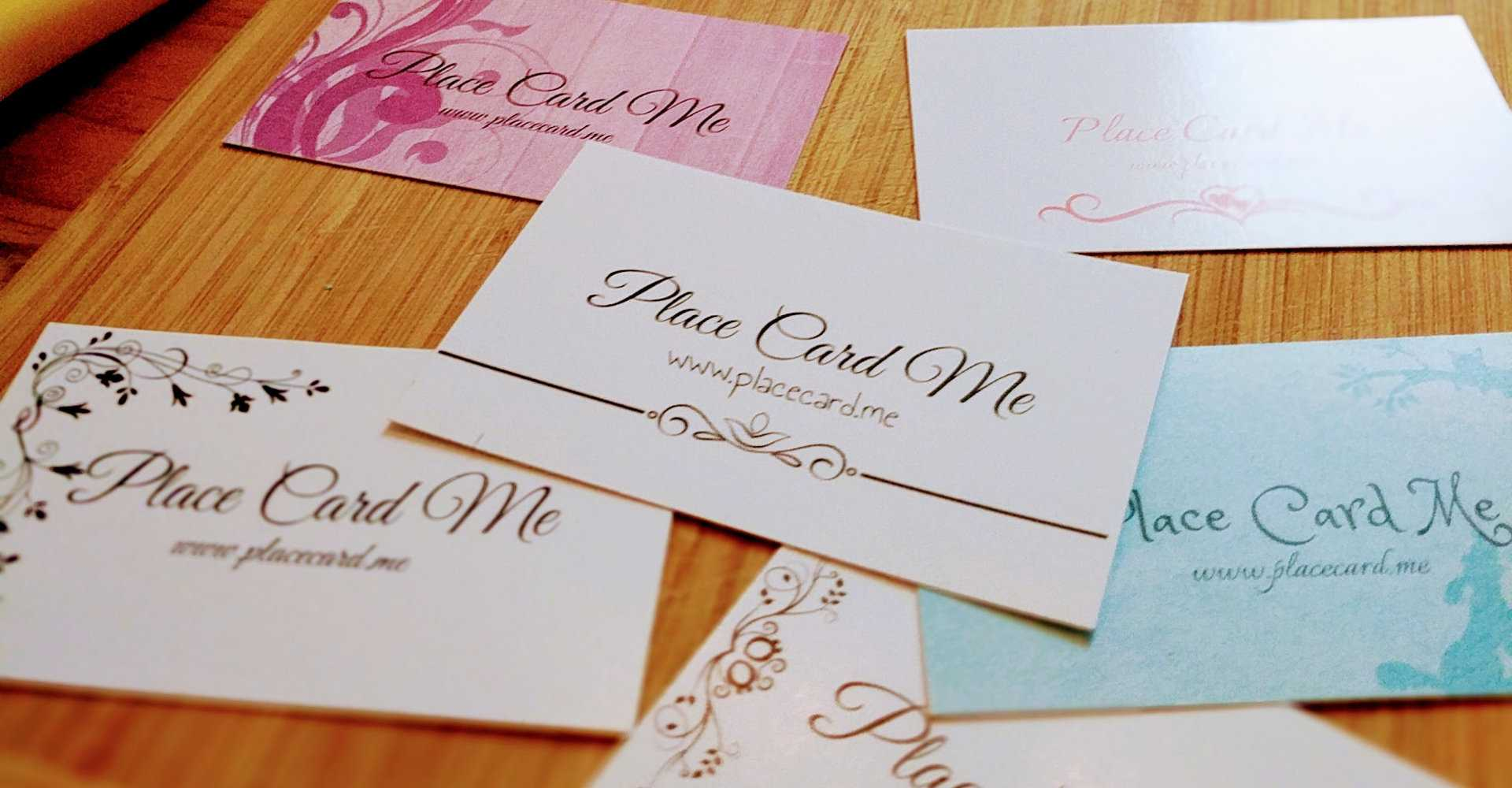 The Definitive Guide To Wedding Place Cards   Place Card Me Pertaining To Michaels Place Card Template