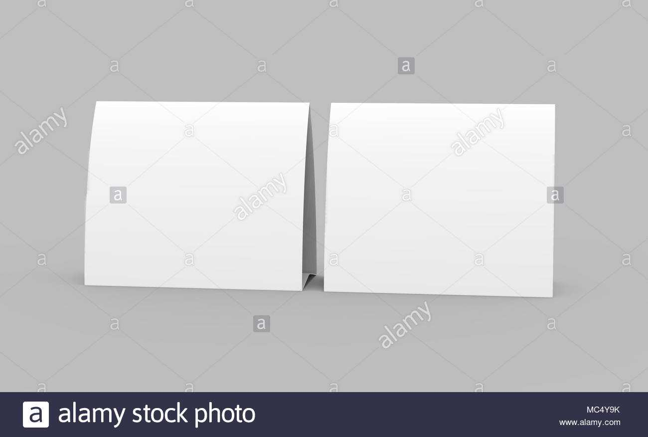 Tri Fold Cards Stock Photos & Tri Fold Cards Stock Images Within Tri Fold Tent Card Template