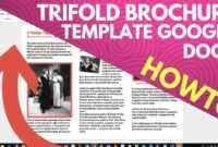 Trifold Brochure Template Google Docs pertaining to Tri Fold Brochure Template Google Docs