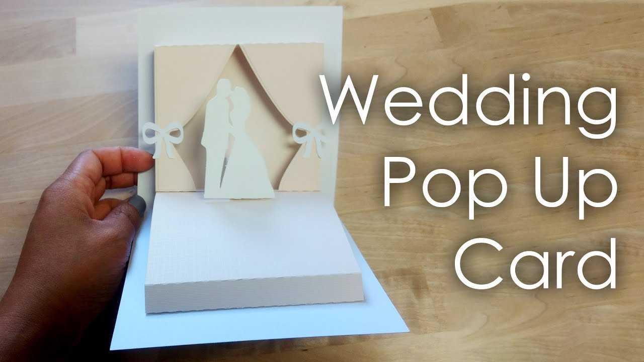 [Tutorial + Template] Diy Wedding Project Pop Up Card With Wedding Pop Up Card Template Free