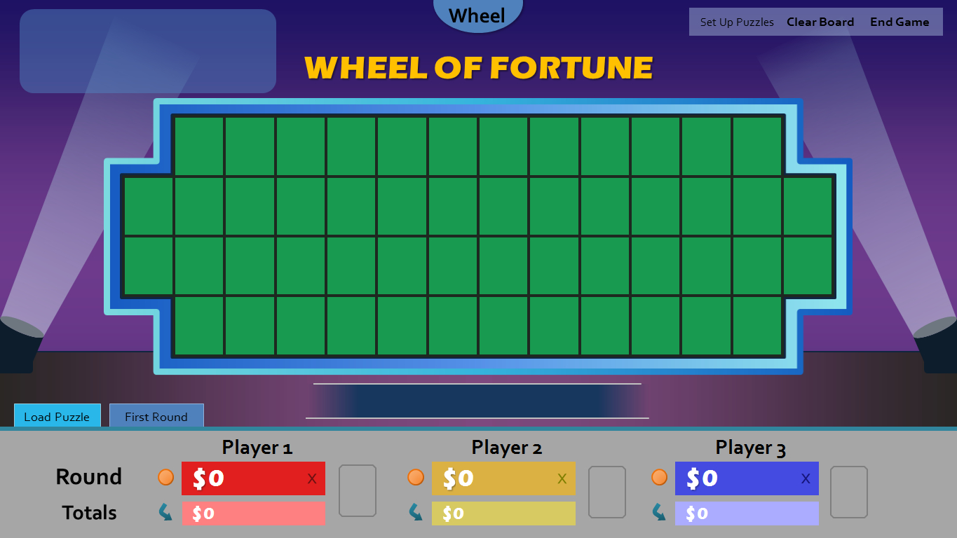 Wheel Of Fortune For Powerpoint - Gamestim With Wheel Of Fortune Powerpoint Template